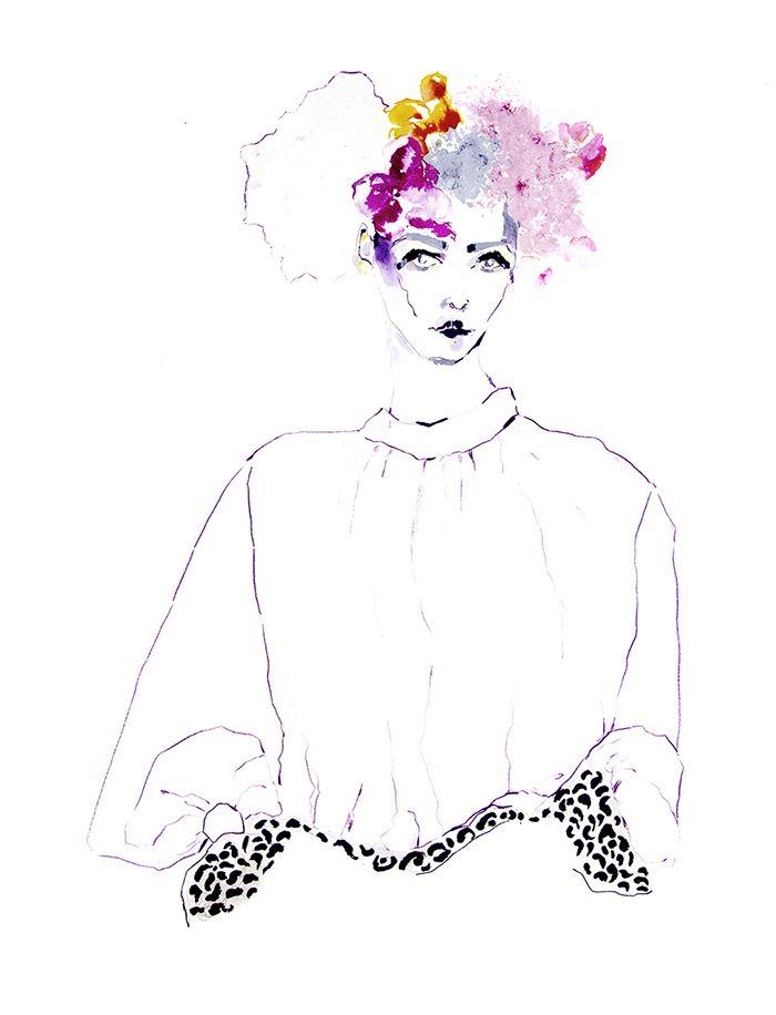 c26591ba209 Fashion illustrations by ELEANOR ROSE.