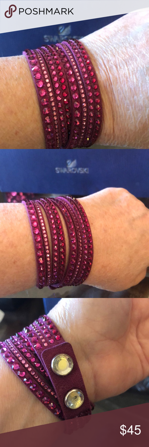 78b4c0b2c Spotted while shopping on Poshmark: Swarovski Crystal Slake Bracelet! # poshmark #fashion #shopping #style #Swarovski #Jewelry