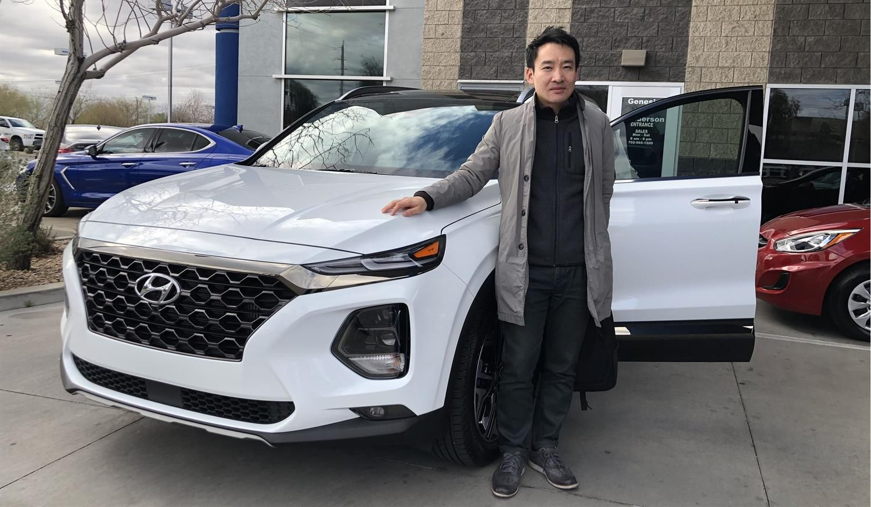 Hankyul We Hope You Enjoy Your New 2020 Hyundai Santa Fe Congratulations And Best Wishes From Henderson Hyundai Superst New Hyundai Hyundai Santa Fe Hyundai