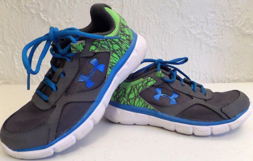 Details about Girl's Boys Youth UNDER ARMOUR GREYBlueGreen