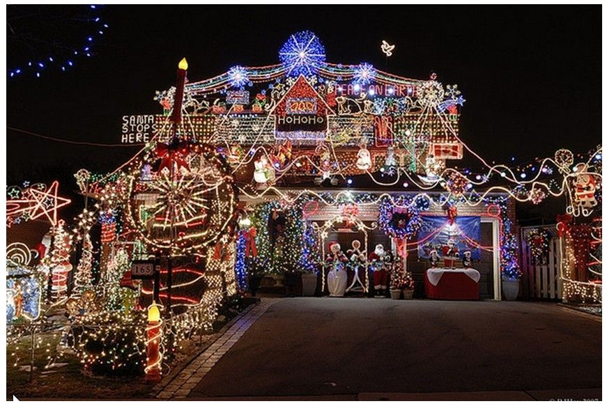 Huge Christmas Lights Display Cool Christmas Light Displays