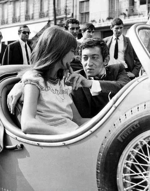Serge Gainsbourg & Jane Birkin.