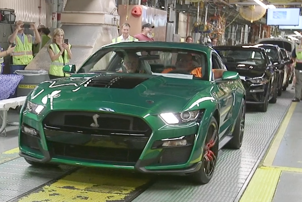 See Photos Of 2020 Ford Mustang Shelby Gt500 Vin 001 In Candy
