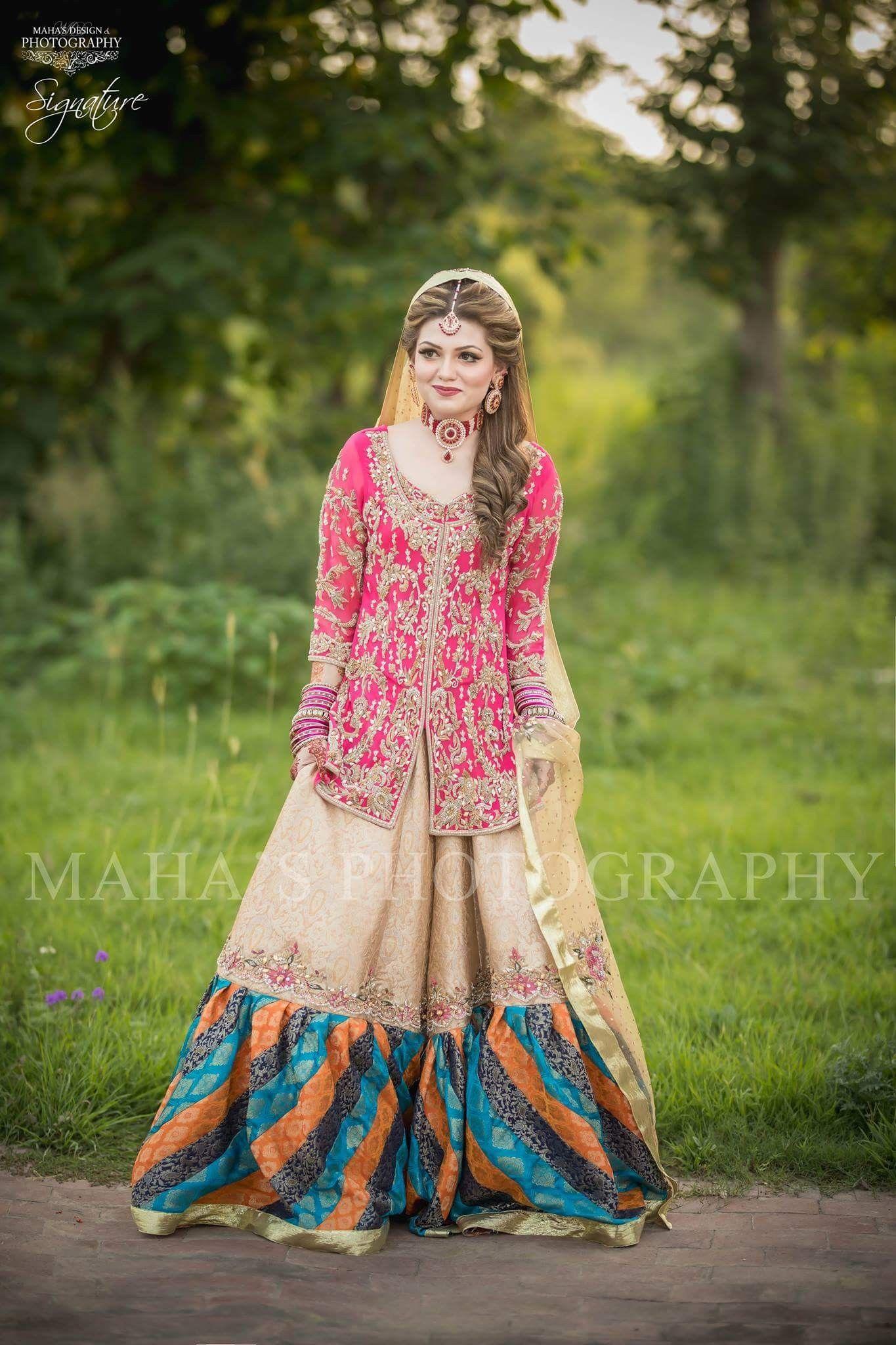 Pin by h i on bridal makeover pinterest dresses pakistani