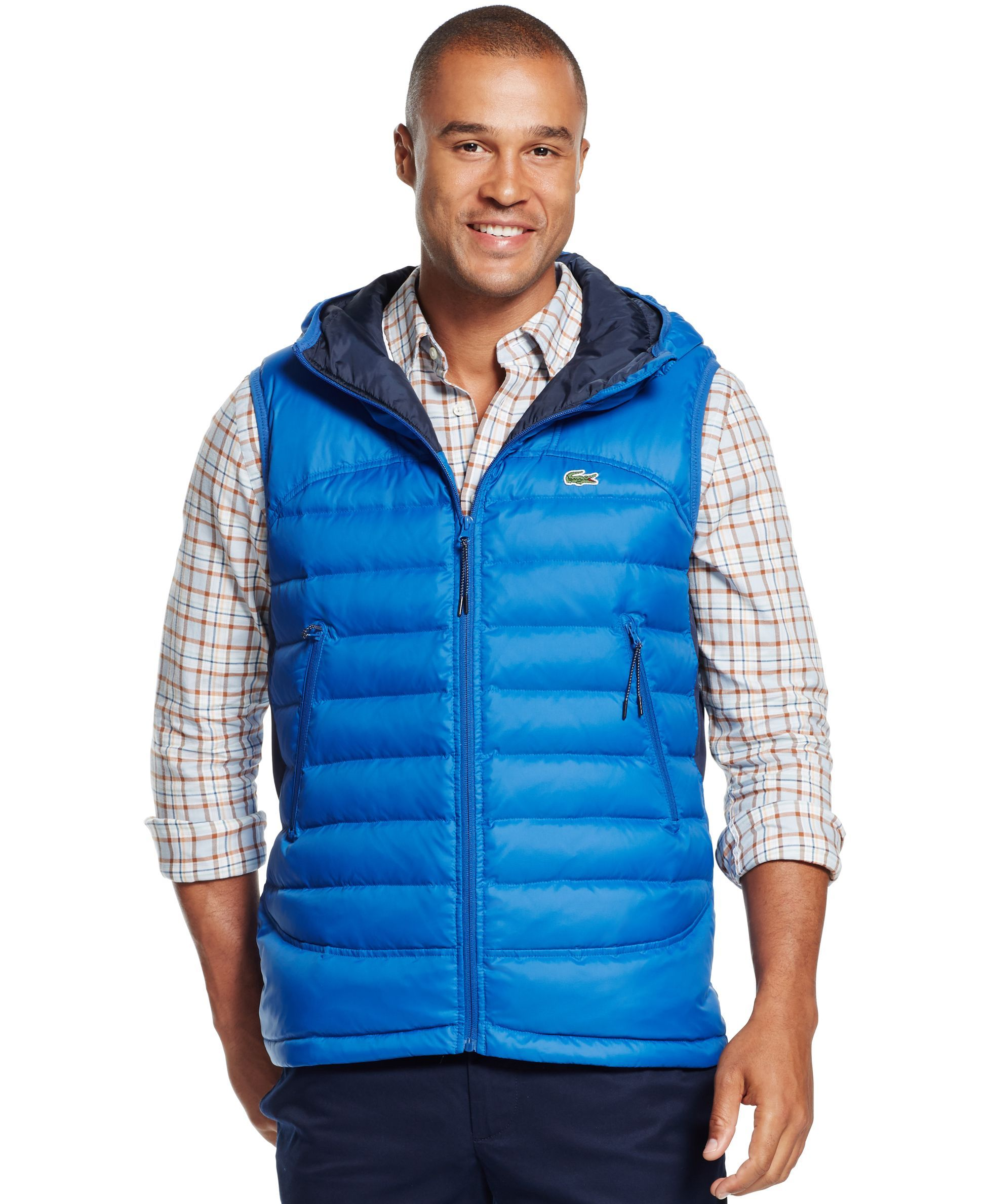 d05cbf2dabfb Lacoste Lightweight Quilted Down Vest
