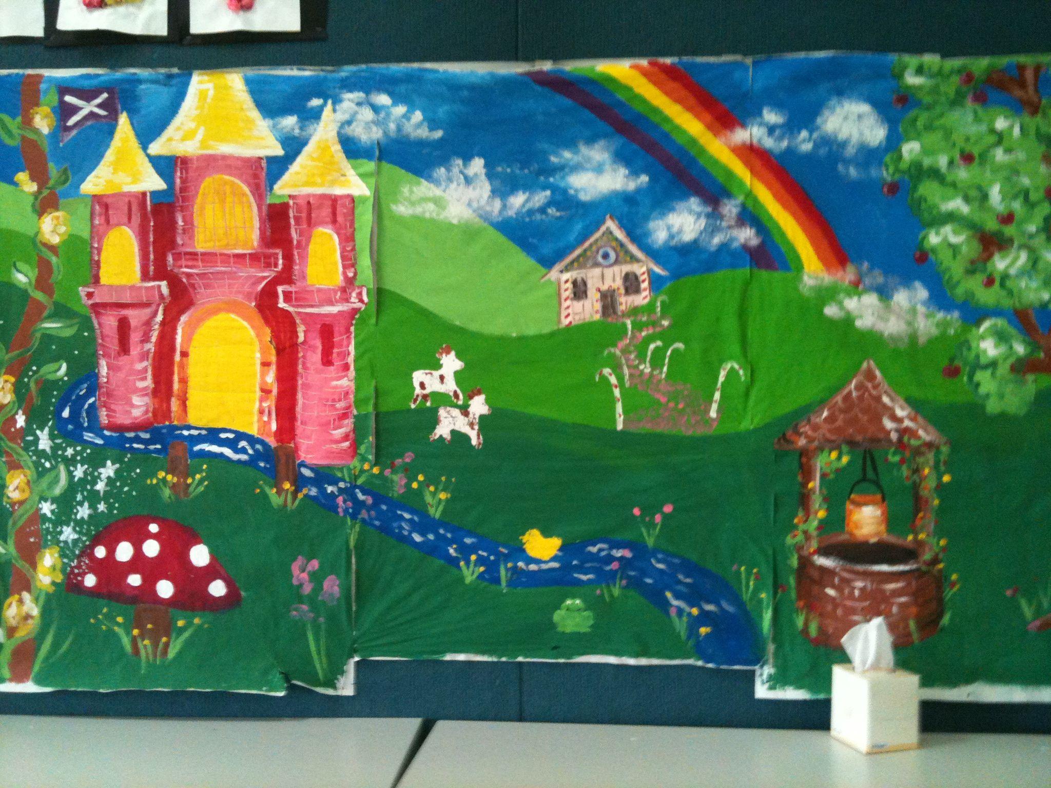 Classroom Fairy Tale Room Escape