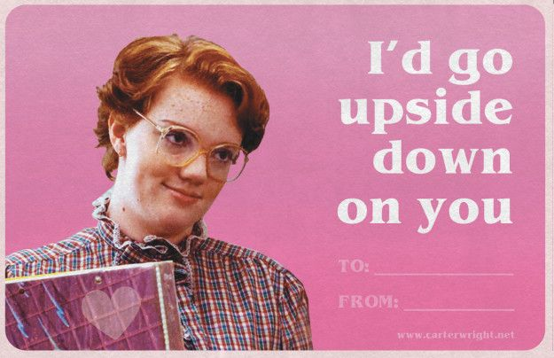 Stranger Things Valentines Are All You Ever Needed Valentines