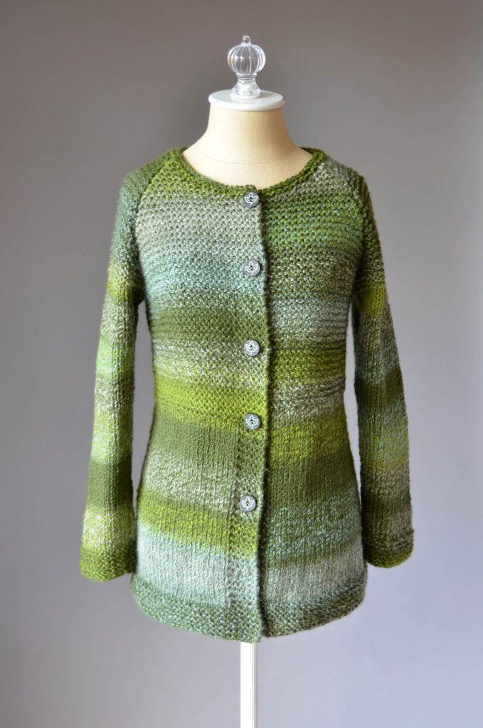 Mossbank Cardigan Free Knitting Pattern for Women | knitting ...