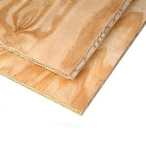 23 32 In X 4 Ft X 8 Ft Plywood Tongue Groove Sub Floor 724084 At The Home Depot Tongue And Groove Plywood Southern Pine Plywood Flooring