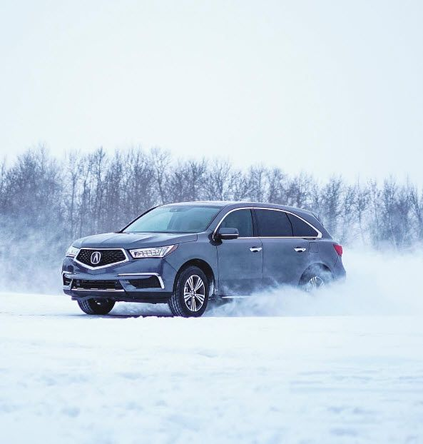 The Acura MDX With Available Super Handling All-Wheel