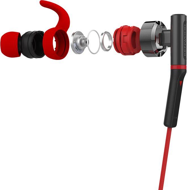 Kenwood KH-SR800B Športové vodeodolné slúchadlá do uší
