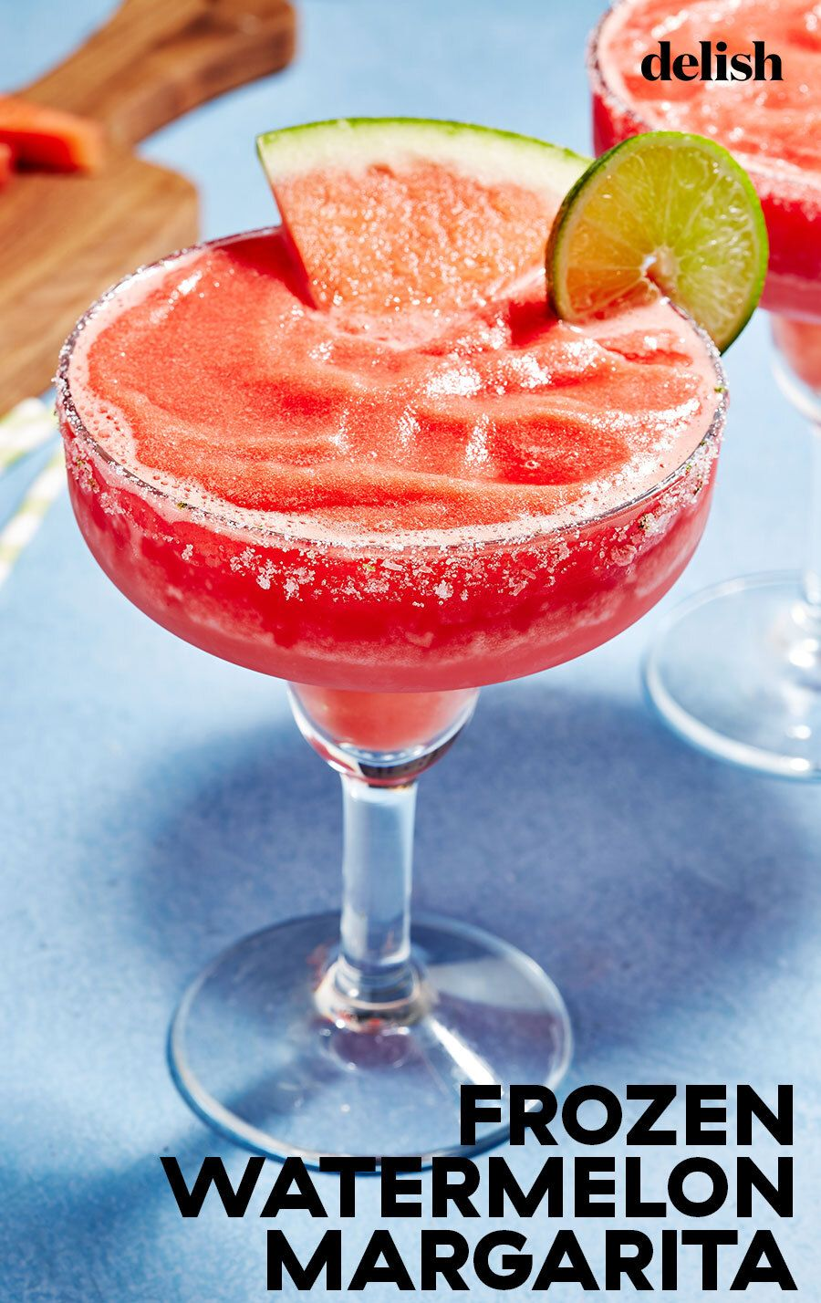 Frozen Watermelon Margaritas The Perfect Summer Cocktail Recipe In 2020 Frozen Watermelon Watermelon Margarita Frozen Watermelon Margarita