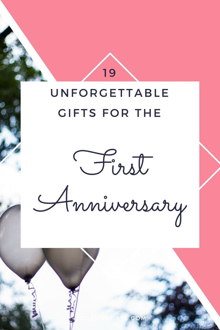 19 unconventional gift ideas for your first anniversary