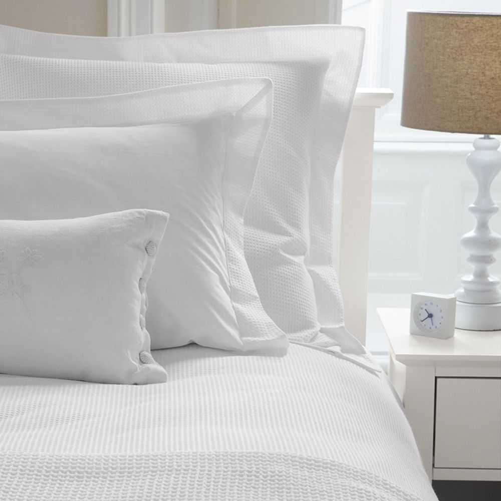 white bed sheet texture. Use Texture, Like The White Waffle Bed Linen, To Create A Beautiful Bed. Sheet Texture D