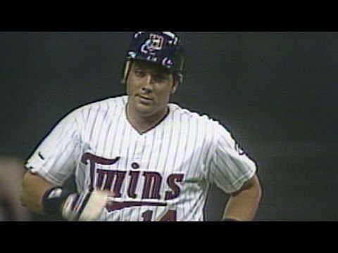 1987ALCS Gm2: Hrbek hits solo homer to left-center - YouTube