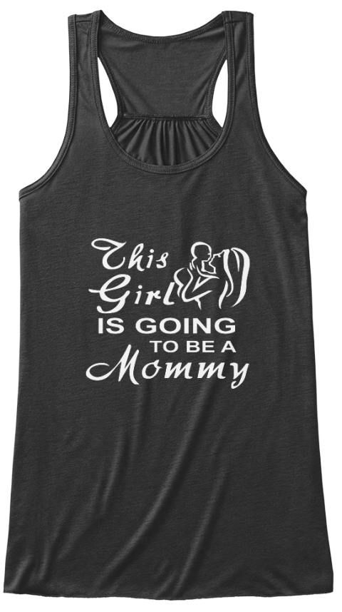 Parents Day 2016 Special For Mom Dark Grey Heather T-Shirt Front