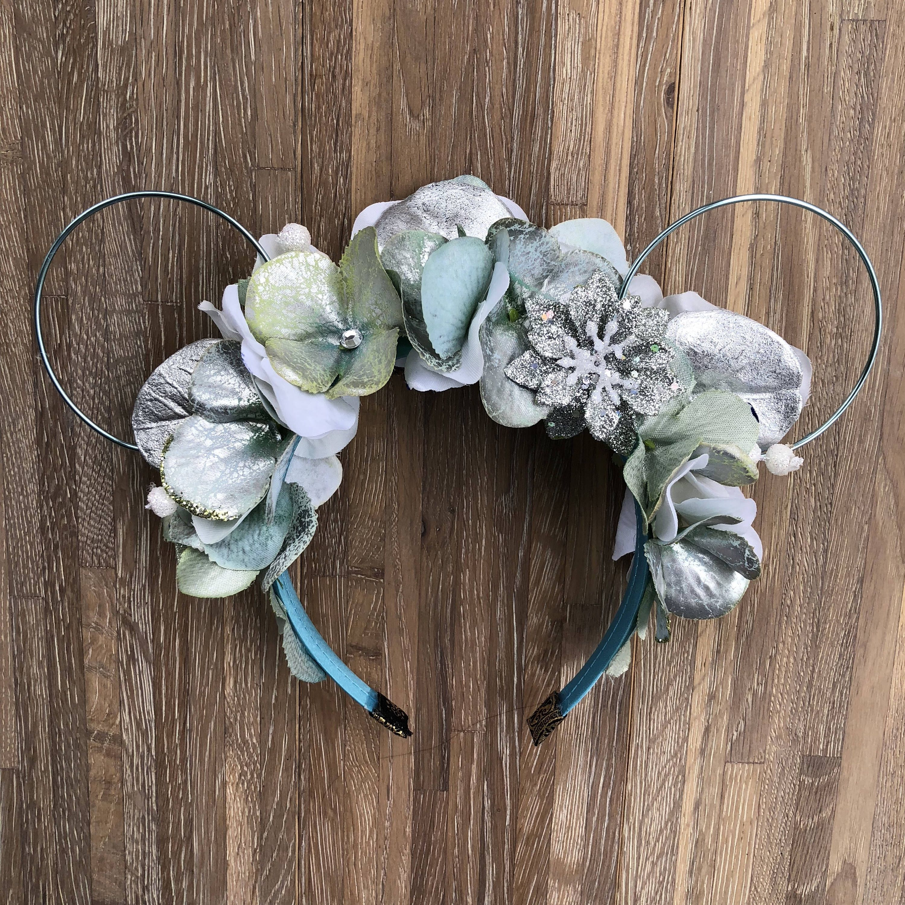 Let it go elsa frozen inspired wire flower crown mickey elsa frozen inspired wire flower crown mickey minnie mouse ears for disney aspoonfulofextra disneyworld flowercrown minnieears disneyprincess izmirmasajfo