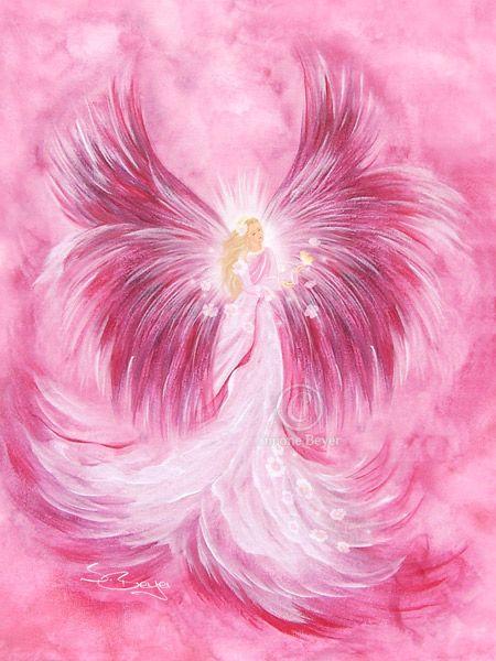 Pink Angel Of Love - Erzengel Ariel ~u10e6~ Engelbild   Angels   Pinterest   Angel Ariel And Angeles