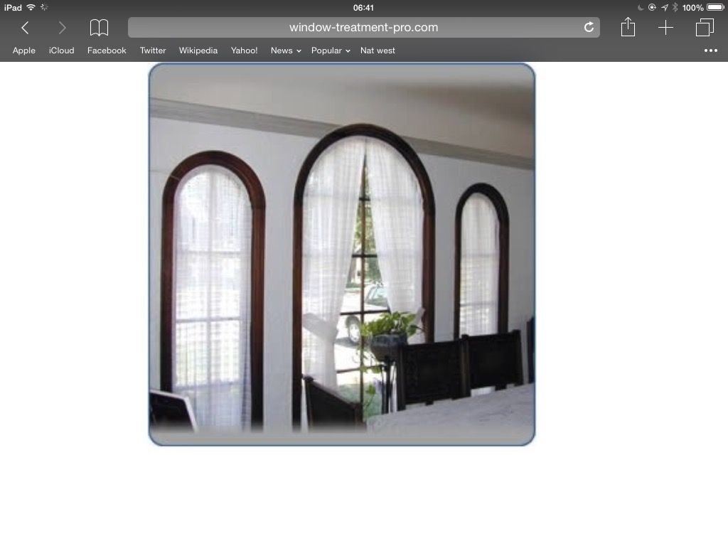 Window dressing ideas for arched windows  pin by gilly rogers on dubai villa lounge  pinterest  villas
