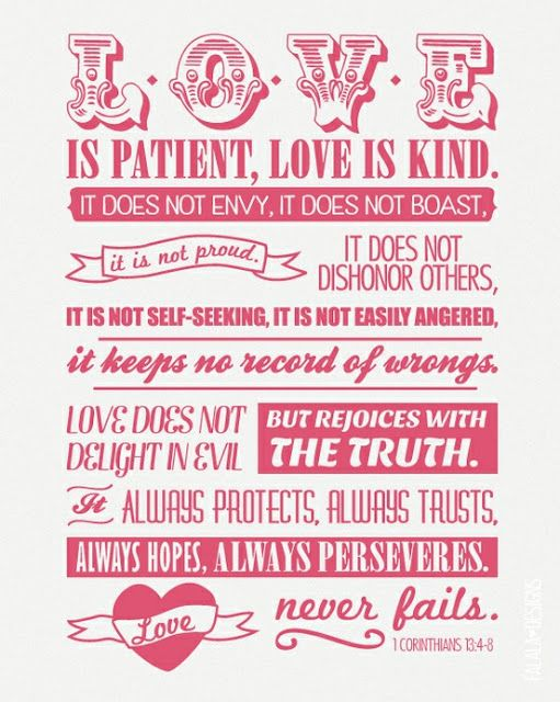 Love is Love quote bible verse This was the verse recited at Impressive Love Quote In The Bible