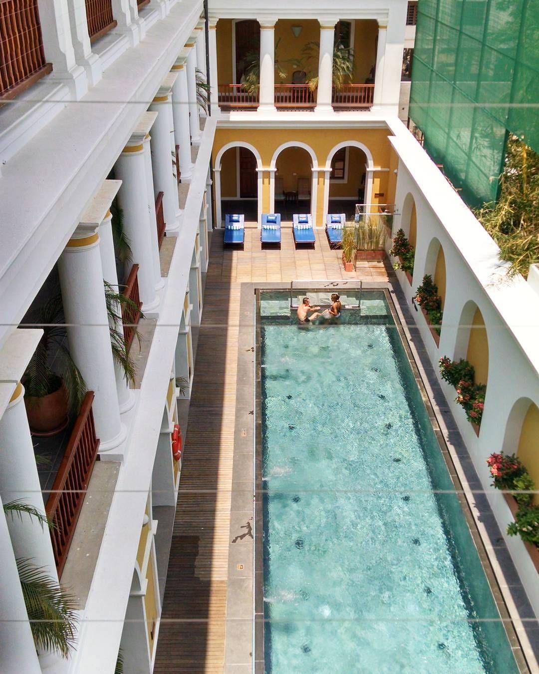 Palais De Mahé Purry Frenchquarter Hotels Pondicherry India Travel By