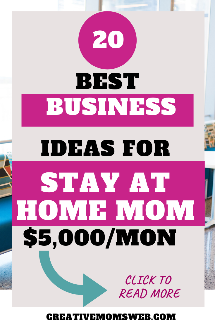 Business Ideas for Stay at Home Moms available today ...