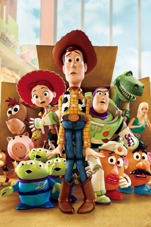 Toy Story Iphone 4s Wallpaper Pixar Walt Disney Disney