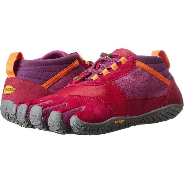 0eb575bc08f1 Vibram FiveFingers Trek Ascent LR (Pink Grey Orange) Women s Shoes  featuring polyvore
