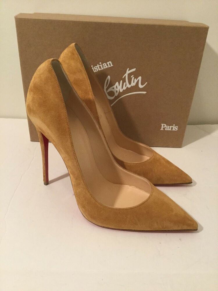 hot sale online 17e27 9bf20 Christian Louboutin So Kate 120mm Suede Red Bottom Pump ...