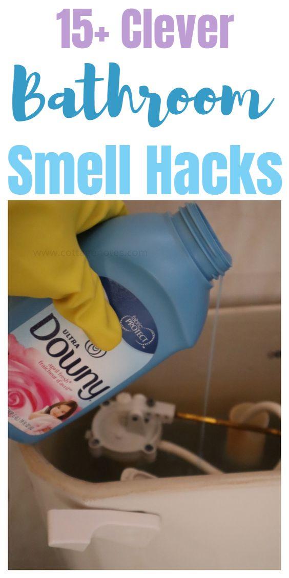 15+ Bathroom Smell Hacks
