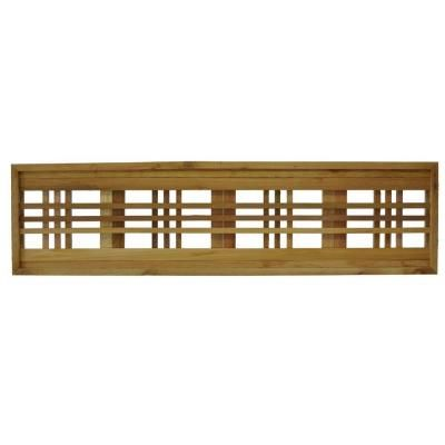 45 75 In X 12 In Western Red Cedar Horizontal Pattern Framed