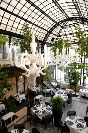 Designed By Moooi Les 4 Sergents France Glass Restaurant Moooi Light La Rochelle