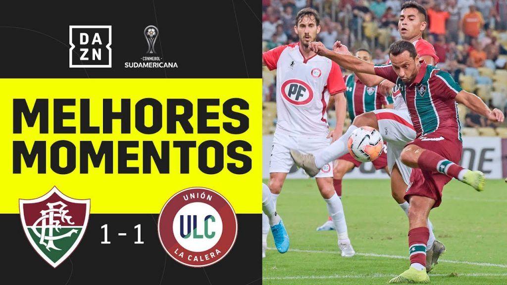 Assista Aos Melhores Momentos De Fluminense 1 X 1 Union La Calera Copa Sul Americana 2020 Futebol Stats Sul Americano Fluminense Estadio Maracana