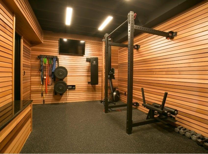 75 Home Gym Design Ideas Photos Home Gym Garage Gym Room At Home Home Gym Design
