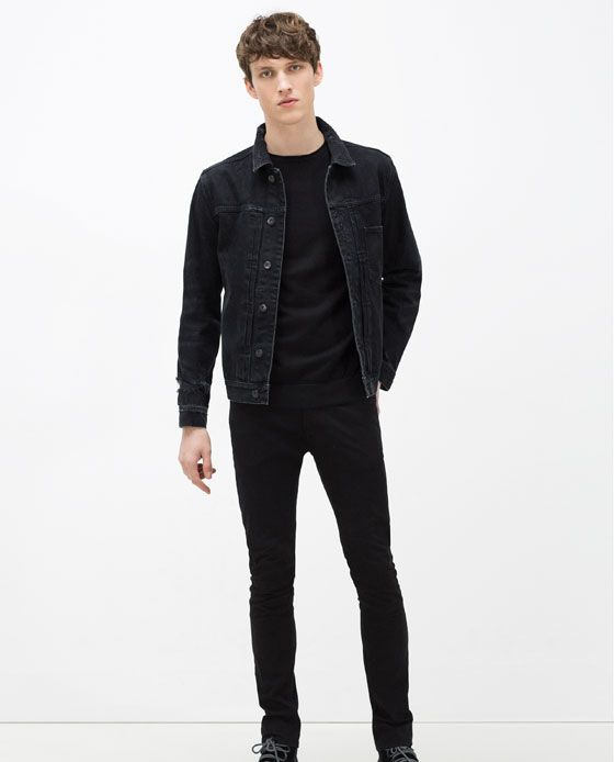 b47305ea ZARA - MAN - RIPPED DENIM JACKET | Never Going Out Of Style in 2019 ...