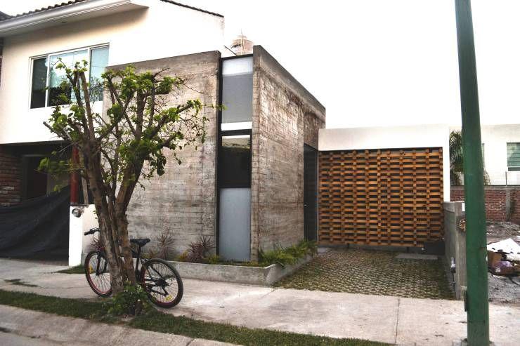 Concreto aparente casa peque a rustica arquitectura for Arquitectura casas pequenas