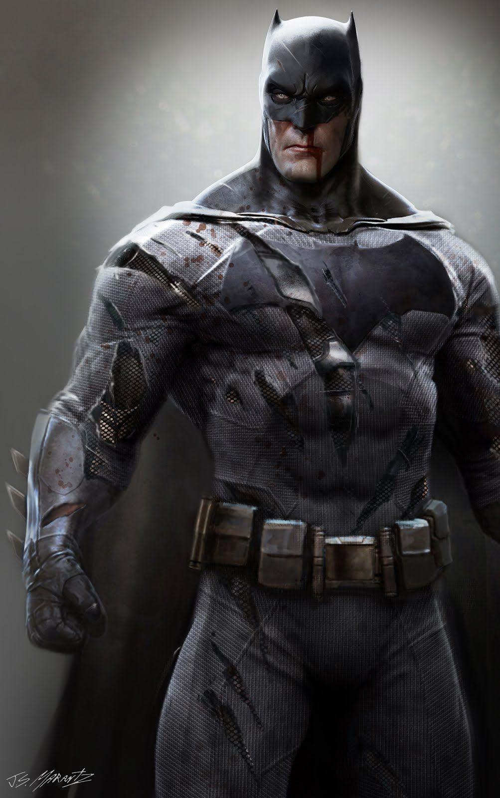Batman Superman Dawn Of Justice Concept Illustrations Jerad Marantz Dc
