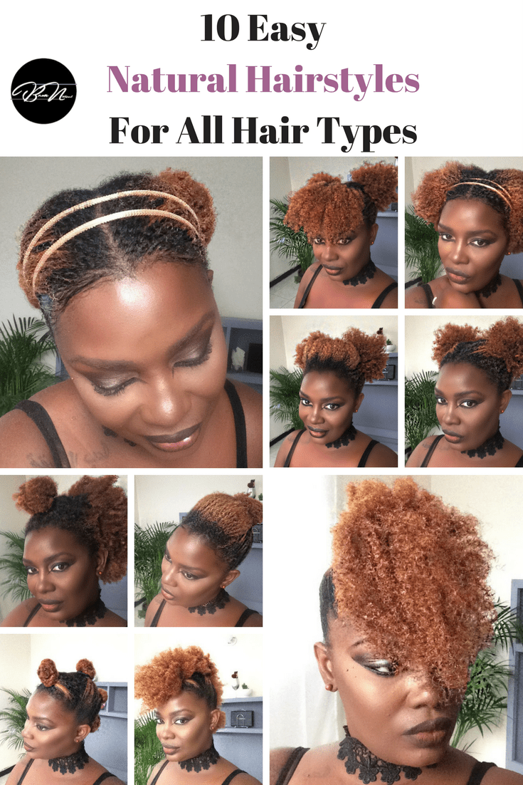 easy natural hairstyles naturally me pinterest easy natural