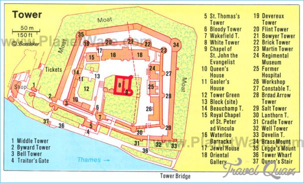 Tower of London Map - http://travelquaz.com/tower-london-map.html ...