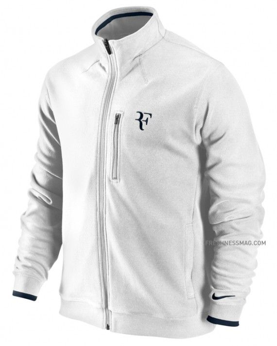 A tiempo Sandalias salvar  Roger Federer x Nike - All Court Tennis Jacket | Jackets, Roger ...