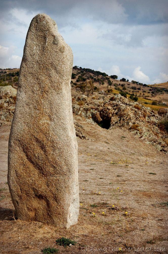 Fairies' houses and giants' tombs, strolling around Mamoiada, Sardinia