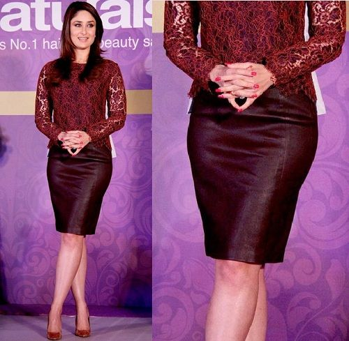 How to Style Pencil Skirt Like the Bollywood Actresses