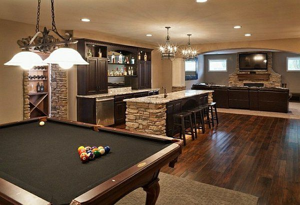 zimmer im keller einrichten 10 tolle und inspirierende beispiele partykeller pinterest. Black Bedroom Furniture Sets. Home Design Ideas