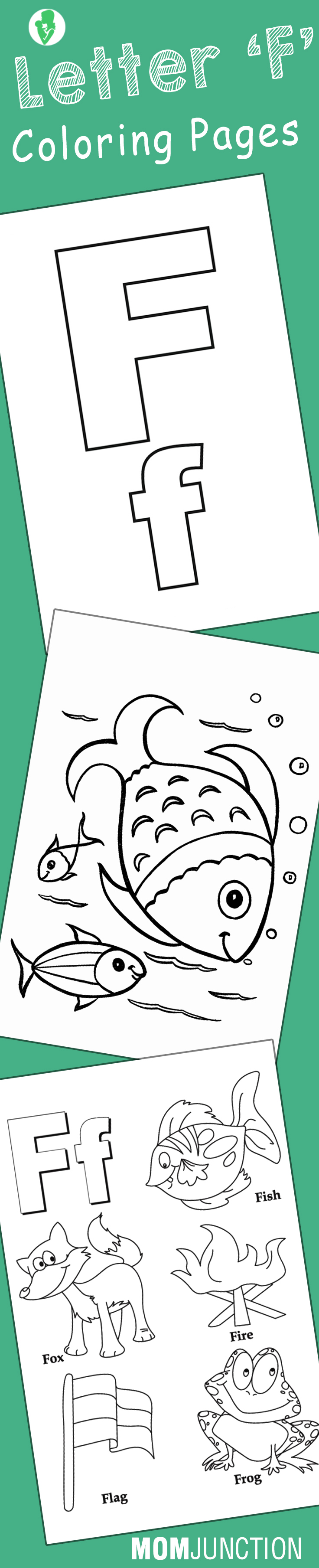 Top 10 letter f coloring pages your toddler will love to learn color