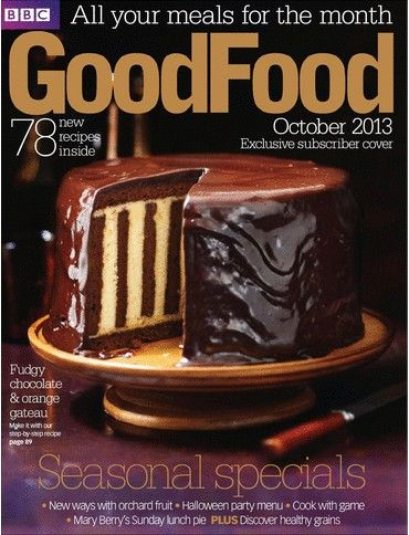 BBC Good Food Magazine October 2013 Searchable Index Of Recipes