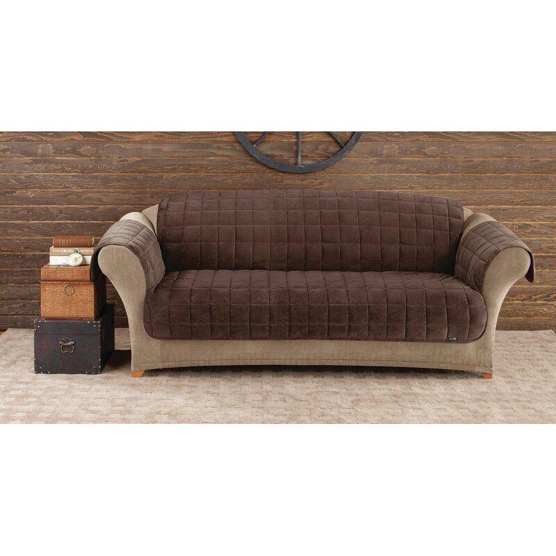 Deluxe Pet Box Cushion Sofa Slipcover In 2020 Cushions On Sofa Slipcovered Sofa Sofa Furniture