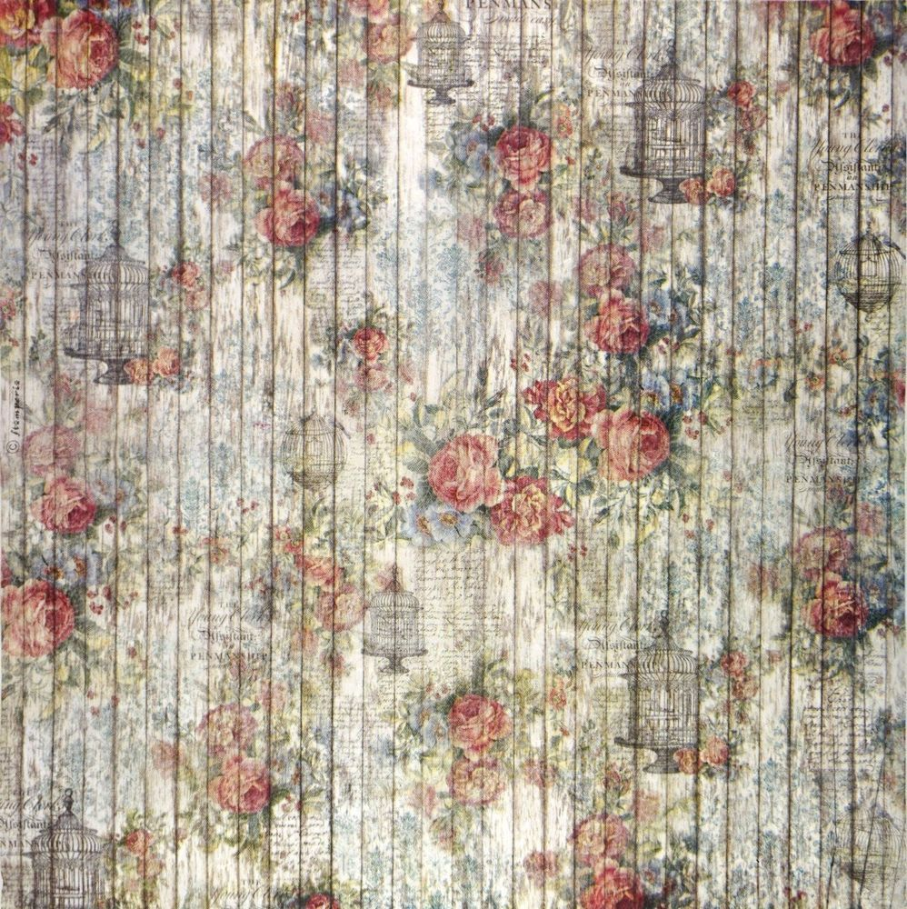 Craft Metallic pattern Scrapbook Sheet Rice Paper for Decoupage