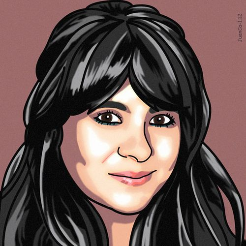 Retrato, portrait, Sandra