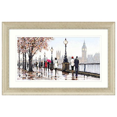 Richard Macneil - Thames View Framed Print, 112 x 72cm