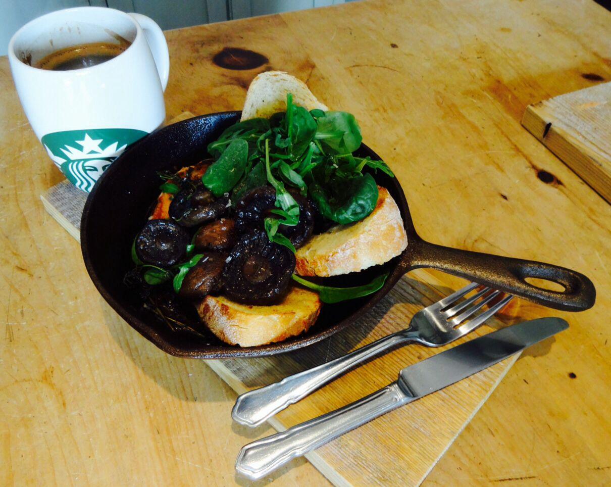 how to cook portobello mushrooms in a pan